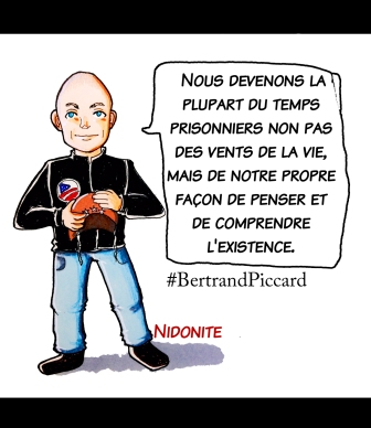 Bertrand Piccard, le mec qui fait le tour du monde à l'aide du soleil
