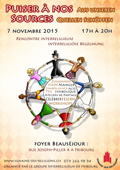 Flyer Interreligieux recto