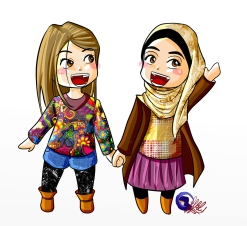 Nidonite et une amie du Portugal :)