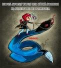 côté sombre serpent